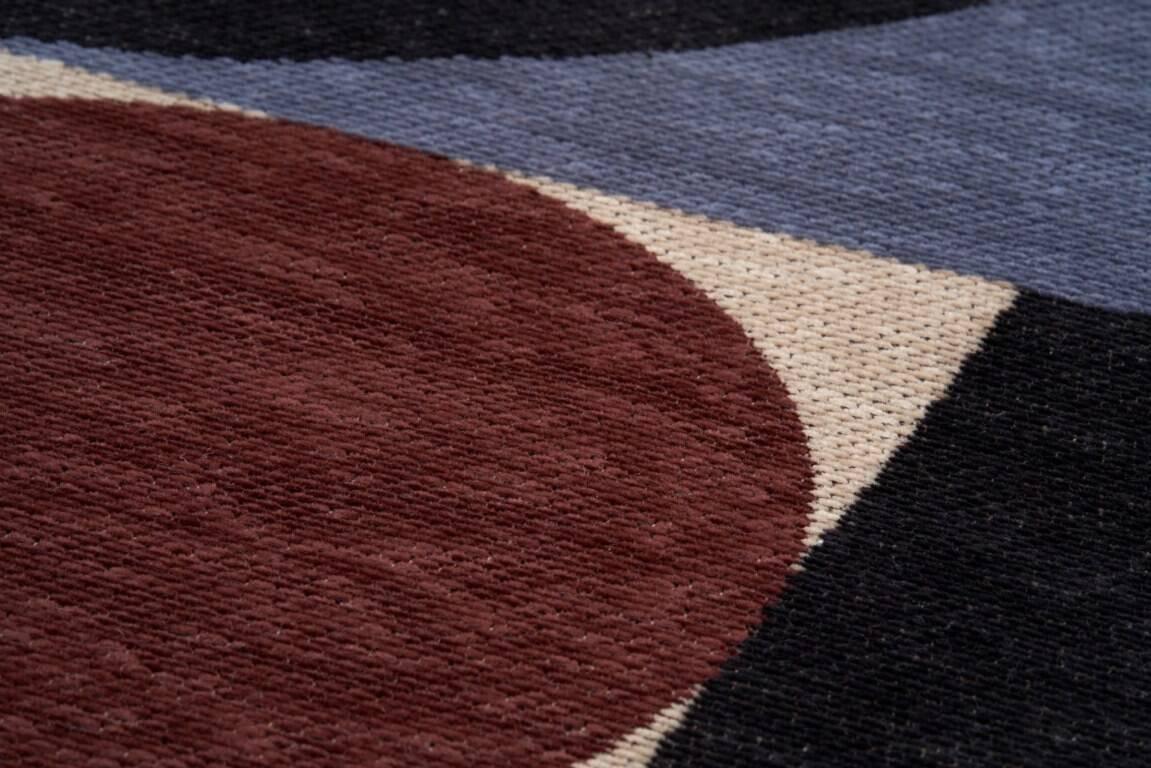 Dywan Carpet Decor Deco Blue Copper