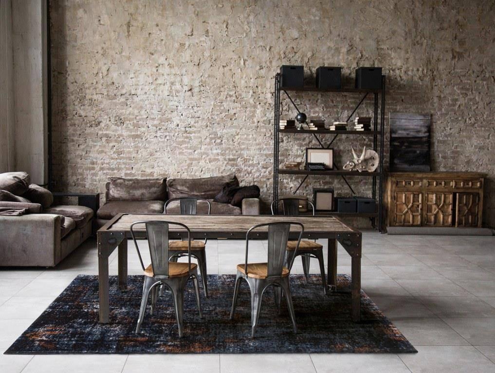 Dywan Carpet Decor Flame Rusty Blue 160 x 230
