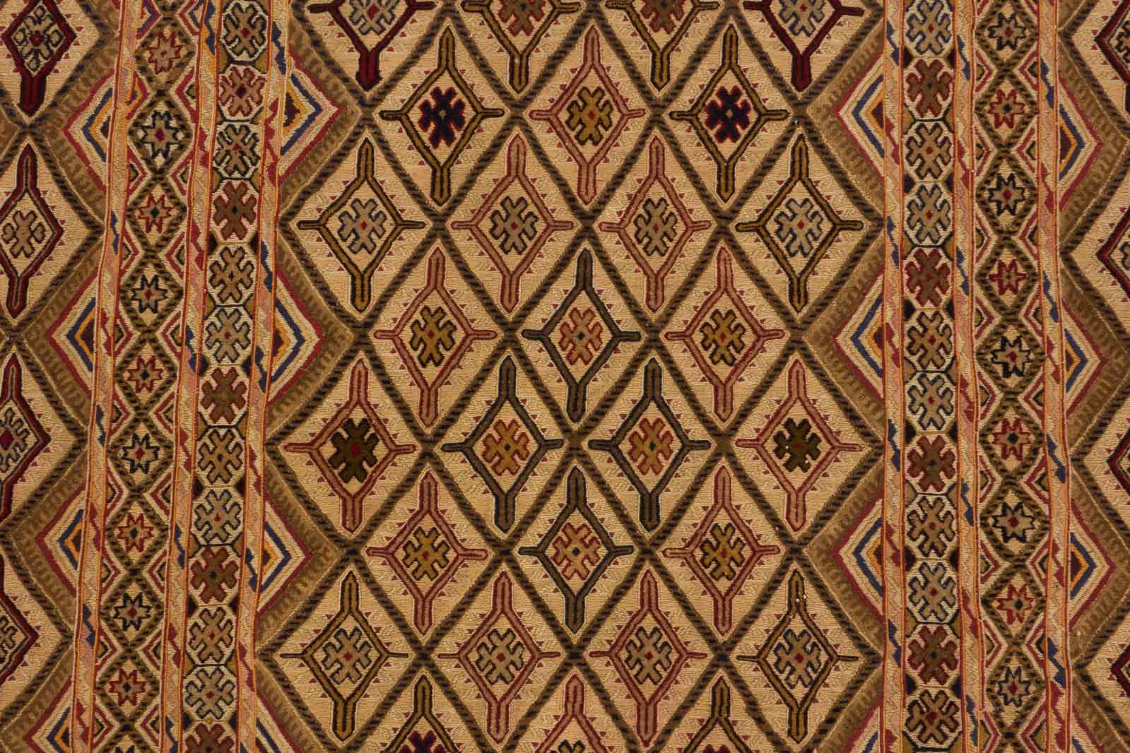 Dywan Wełniany Afghan Unique Kelim 146 x 187 39100