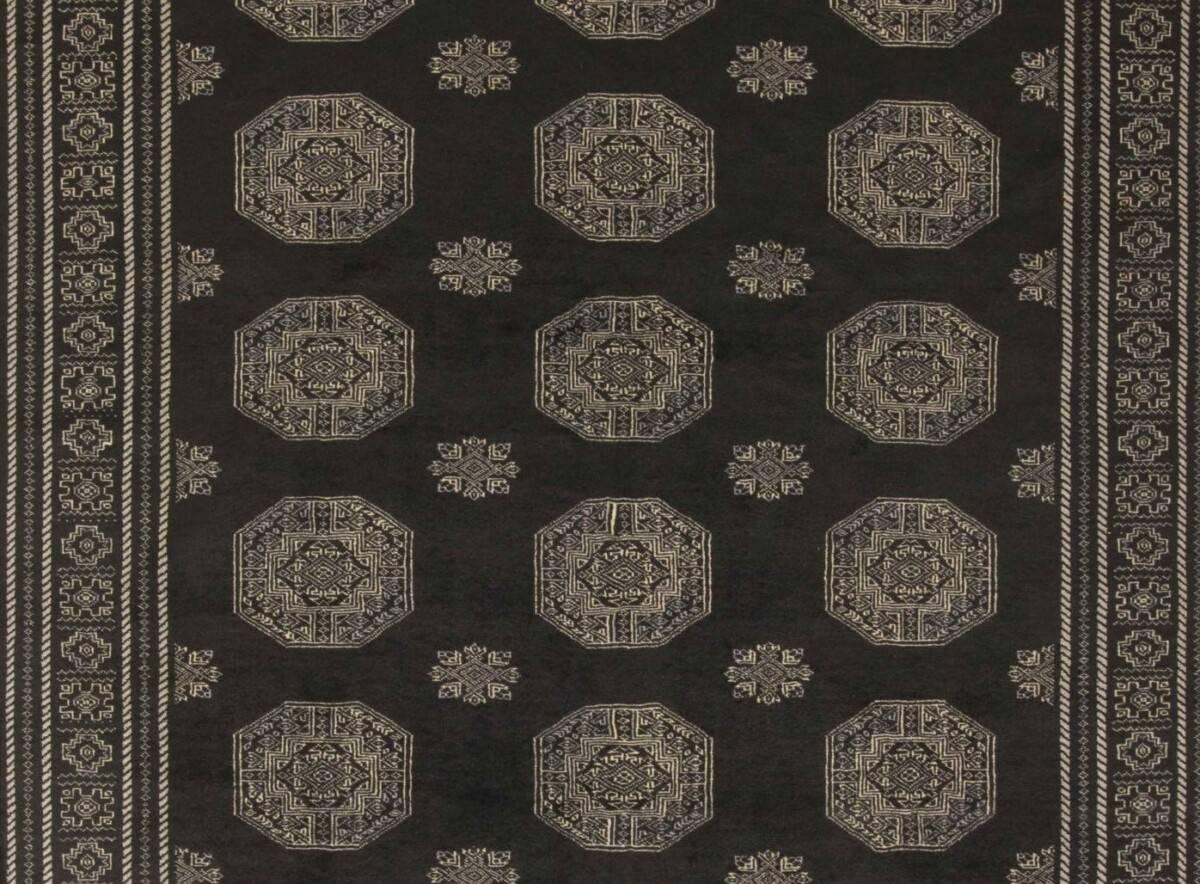 Dywan Wełniany Pakistan Bokhara Black 1382555 201x313