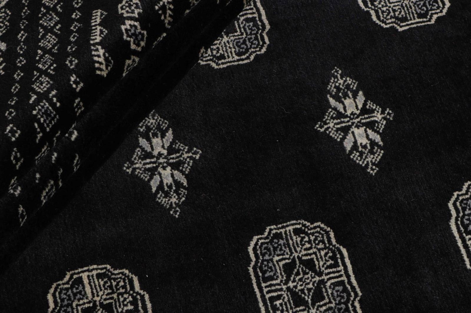 Dywan Wełniany Pakistan Bokhara Black 197x315
